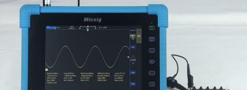 Micsig Tablet Oscilloscope Review