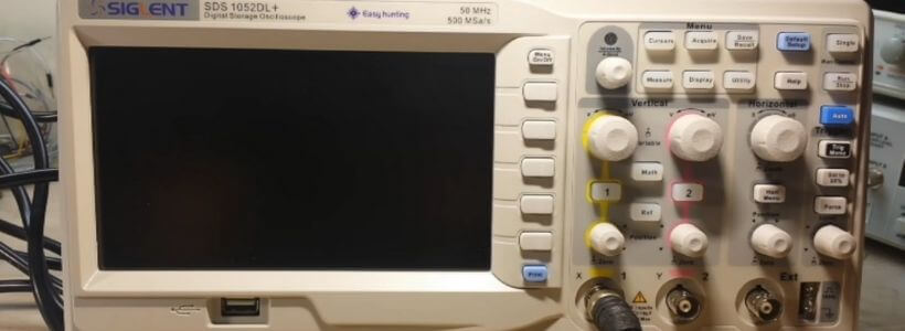 Parts of an Oscilloscope