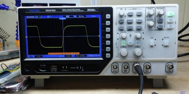 HOW TO CONNECT AN OSCILLOSCOPE TO A CIRCUIT
