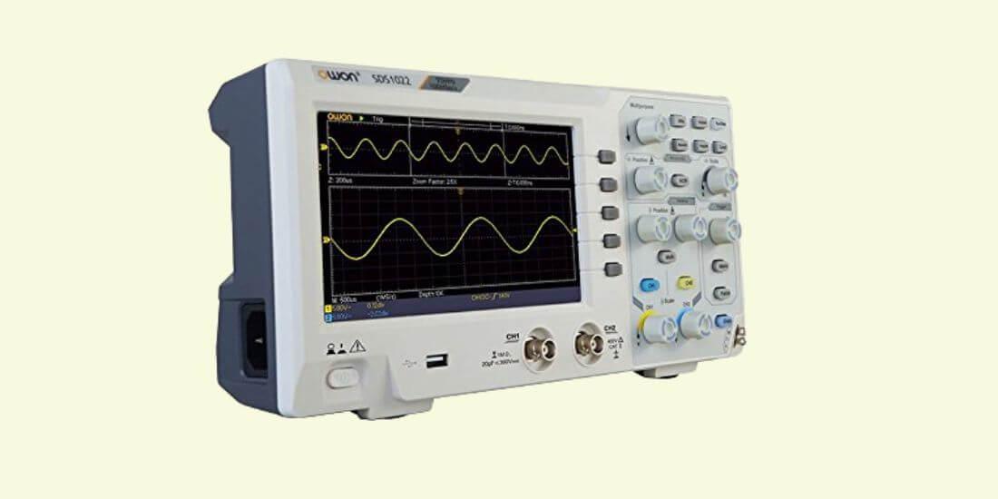 OWON SDS1102 VS HANTEK DSO5102P