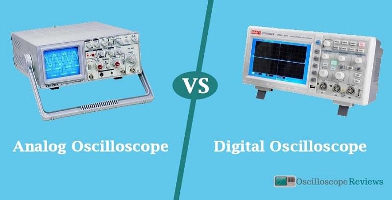 analog vs. digital oscilloscope