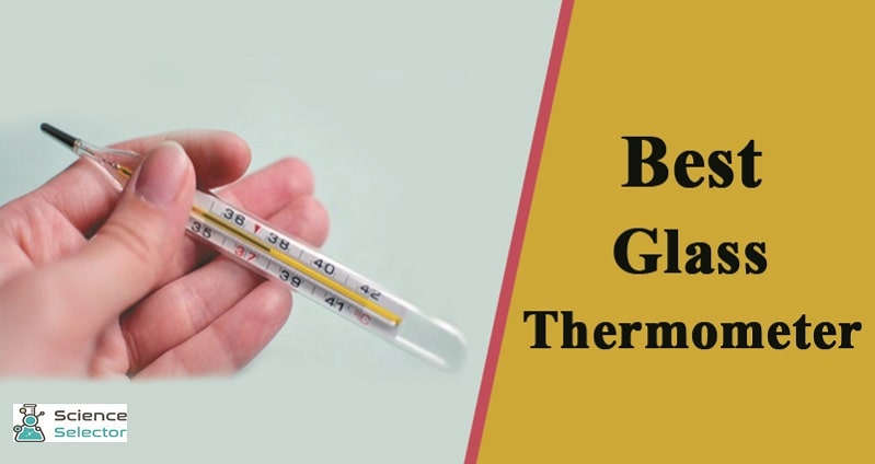 glass medical thermometer