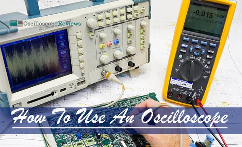 how to use oscilloscope to measure dc voltage