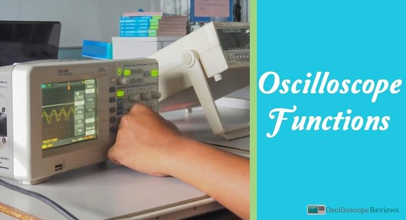 5 function of oscilloscope