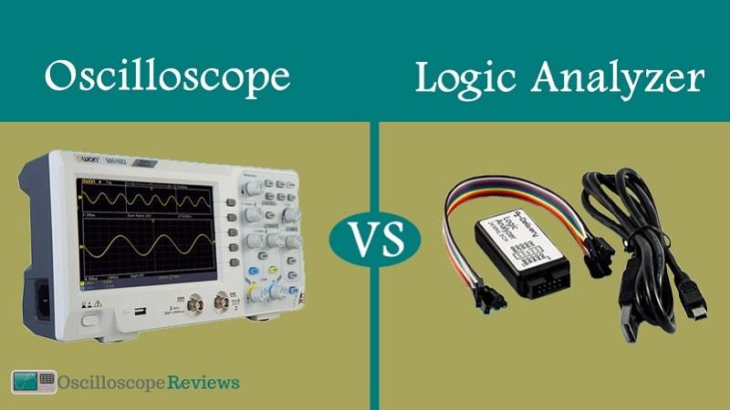 oscilloscope vs logic analyzer