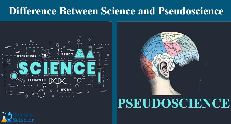 what is the difference between science and pseudoscience quizlet