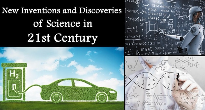 inventions and discoveries of science