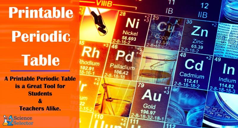 printable periodic table pdf